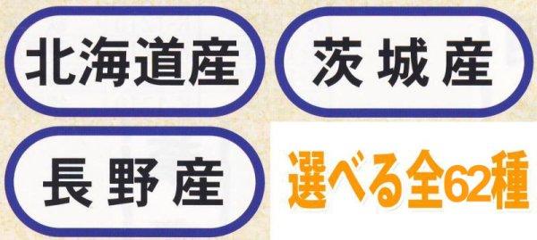 画像1: 業務用鮮魚向け販促シール「都道府県ほか産地別シール 全62種類」42x18mm「1冊1,000枚」《区分A》 (1)